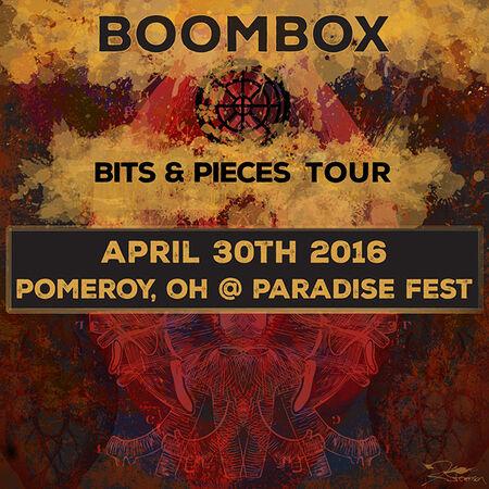 04/30/16 Paradise Music Festival, Pomeroy, OH
