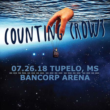 07/26/18 Bancorp Arena, Tupelo, MS