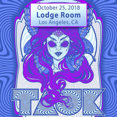 10/25/18 Lodge Room, Los Angeles, CA