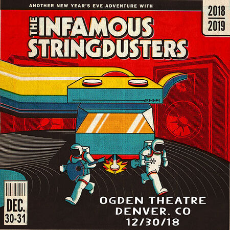 12/30/18 Ogden Theatre, Denver, CO