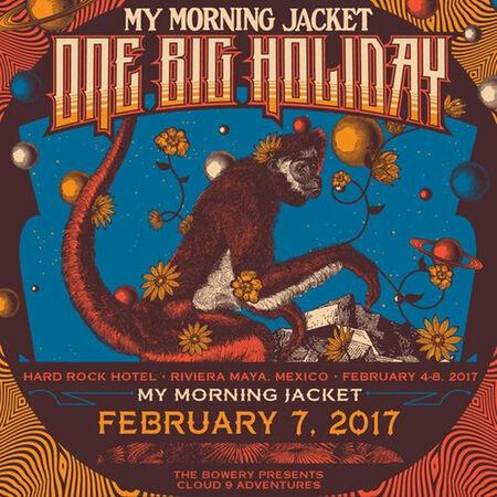 02/07/17 Hard Rock Hotel, One Big Holiday, MX