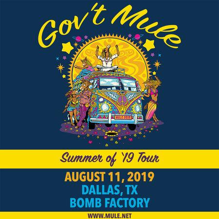 08/11/19 Bomb Factory, Dallas, TX