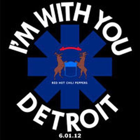 06/01/12 Joe Louis Arena, Detroit, MI