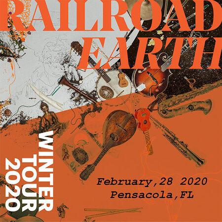 02/28/20 Vinyl Music Hall, Pensacola, FL