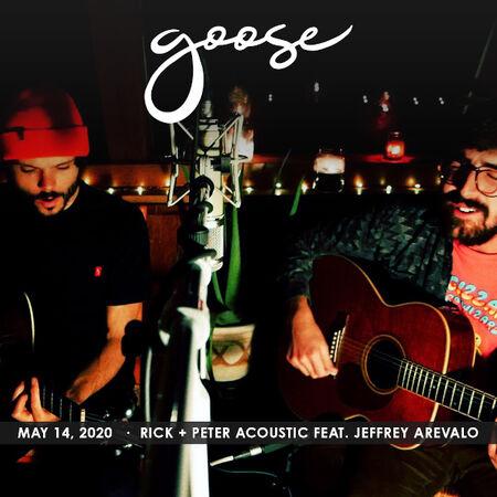 05/14/20 Rick & Peter Acoustic ft. Jeff Arevalo , The Solarium, CT
