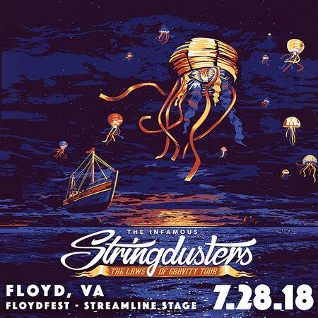 07/28/18 Floydfest Streamline Stage, Floyd, VA