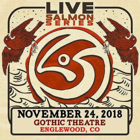 11/24/18 Gothic Theatre, Englewood, CO