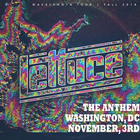 11/03/18 The Anthem, Washington, DC