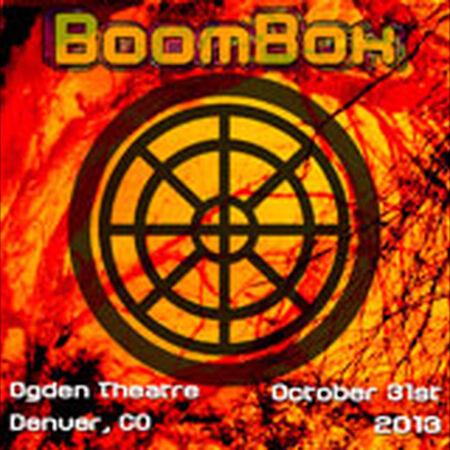 10/31/13 Ogden Theatre, Denver, CO