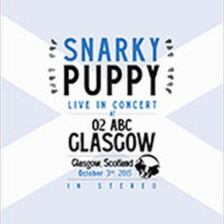 10/03/15 O2 Academy ABC, Glasgow, UK