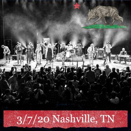03/07/20 Ryman Auditorium, Nashville, TN