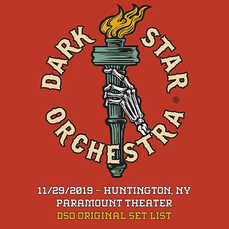 11/29/19 Paramount Theater, Huntington, NY