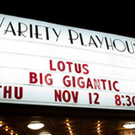 11/12/09 Variety Playhouse, Atlanta, GA