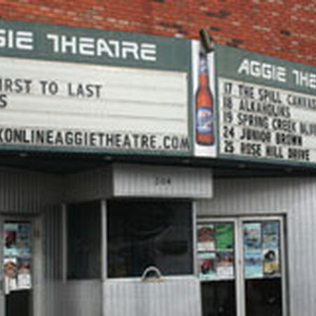 04/10/08 Aggie Theatre, Fort Collins, CO