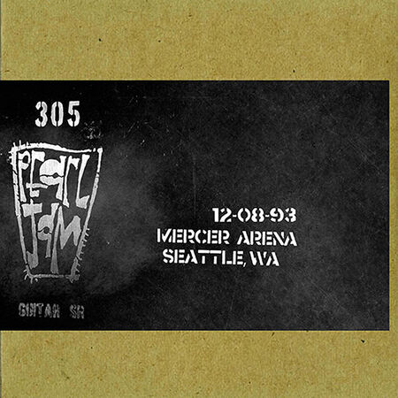 12/08/93 Mercer Arena, Seattle, WA