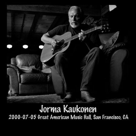 07/05/00 Great American Music Hall, San Francisco, CA