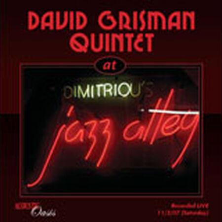 11/02/07 Jazz Alley, Seattle, WA