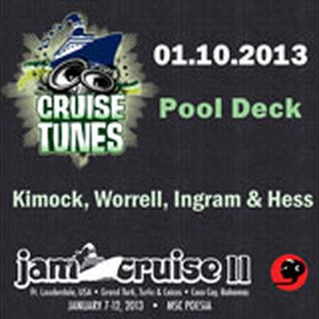 01/10/13 Pool Deck, Jam Cruise, US