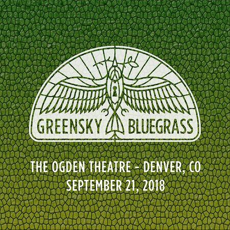 09/21/18 Ogden Theatre, Denver, CO