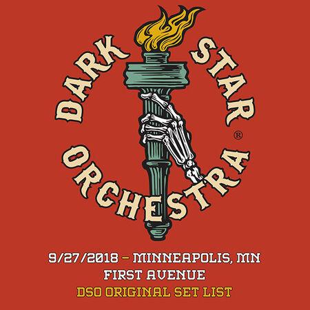 09/27/18 First Avenue, Minneapolis, MN