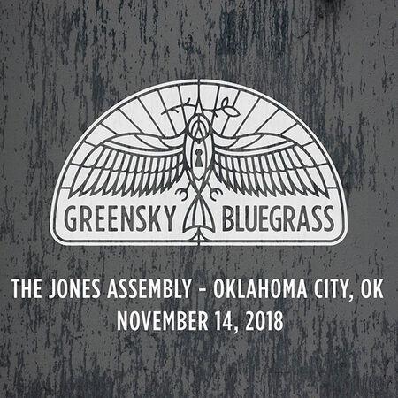 11/14/18 The Jones Assembly, Oklahoma City, OK