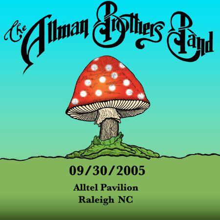 09/30/05 ALLTEL Pavilion , Raleigh, NC