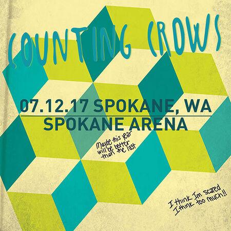 07/12/17 Spokane Arena, Spokane, WA