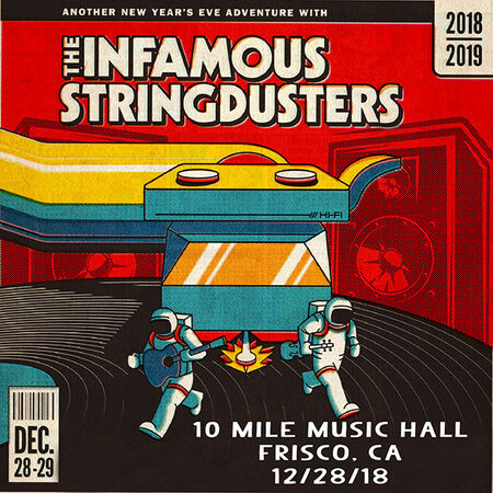 12/28/18 10 Mile Music Hall, Frisco, CO