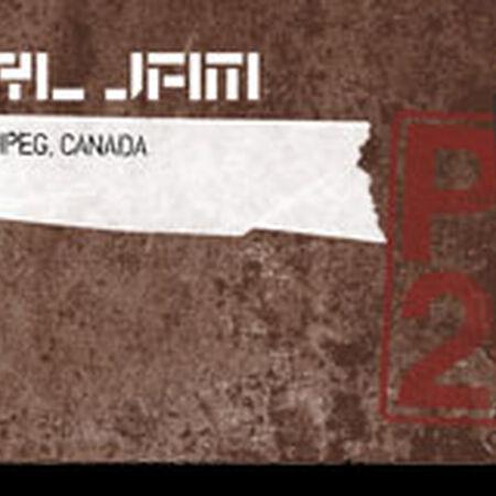 09/17/11 MTS Centre, Winnipeg, MB