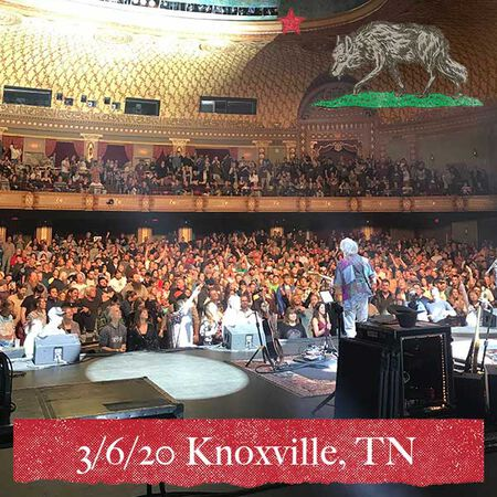 03/06/20 Tennessee Theatre, Knoxville, TN