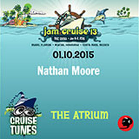 01/10/15 The Atrium, Jam Cruise, US