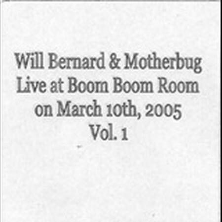 03/10/05 Boom Boom Room, San Francisco, CA