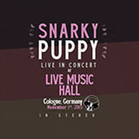 11/01/15 Live Music Hall, Koln, DE