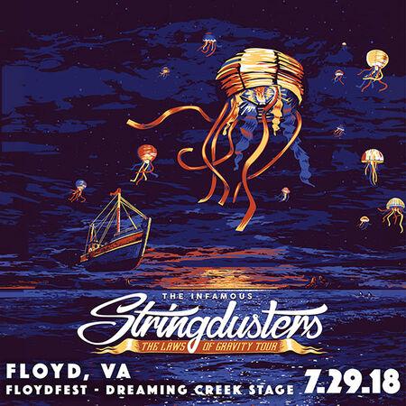 07/29/18 Floydfest Dreaming Creek Stage, Floyd, VA