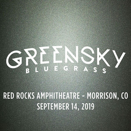 09/14/19 Red Rocks Amphitheatre, Morrison, CO