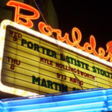 03/18/09 Boulder Theater, Boulder, CO