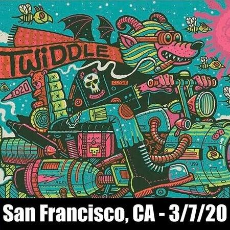 03/07/20 The Fillmore, San Francisco, CA