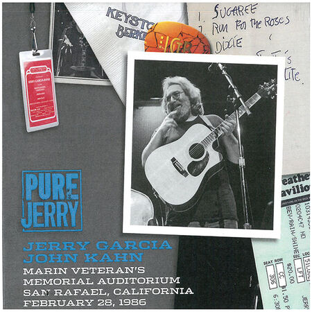02/28/86 Pure Jerry: Marin Veteran's Memorial Auditorium, San Rafael, CA