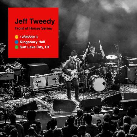 12/06/13  Jeff Tweedy Solo at Kingsbury Hall, Salt Lake City, UT