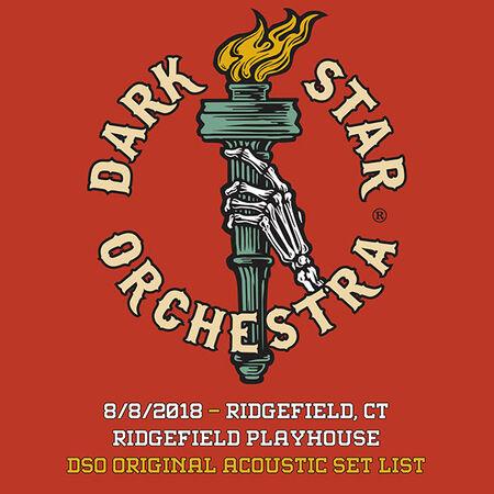 08/08/18 Ridgefield Playhouse, Ridgefield, CT
