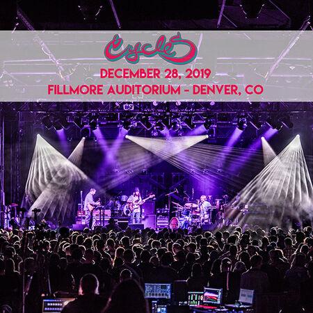 12/28/19 Fillmore Auditorium, Denver, CO