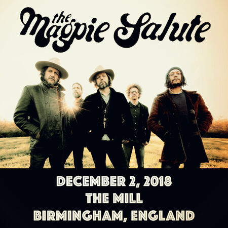 12/02/18 The Mill, Birmingham, UK