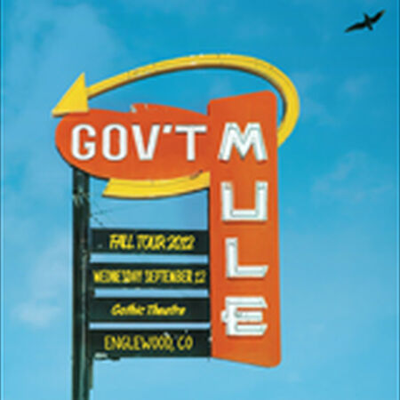 09/12/12 Gothic Theatre, Englewood, CO