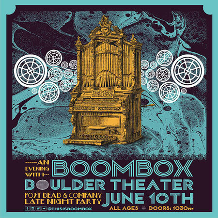 06/10/17 Boulder Theater, Boulder, CO