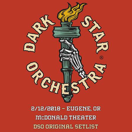 02/12/18 McDonald Theatre, Eugene, OR