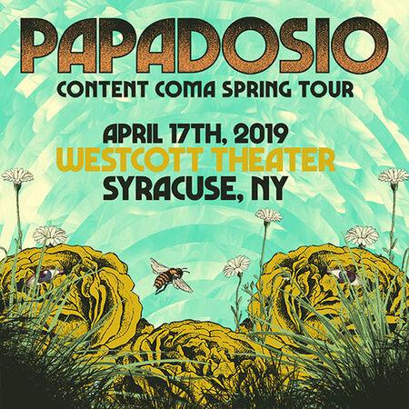 04/17/19 Westcott Theater, Syracuse, NY