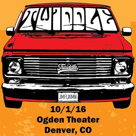 10/01/16 Ogden Theater, Denver, CO
