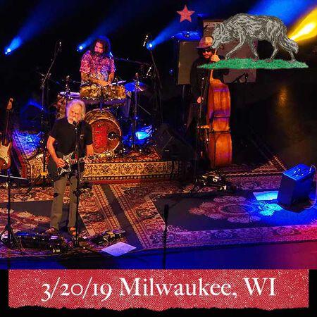 03/20/19 Riverside Theatre, Milwaukee, WI
