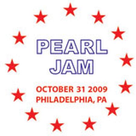 10/31/09 The Spectrum, Philadelphia, PA