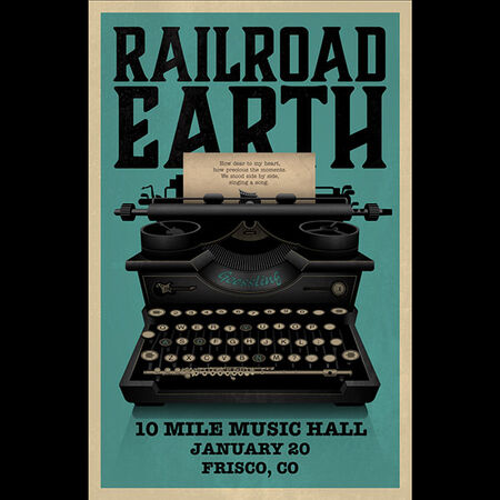 01/20/19 10 Mile Music Hall, Frisco, CO
